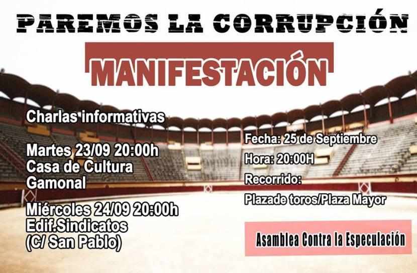 Manifestación Plaza de Toros